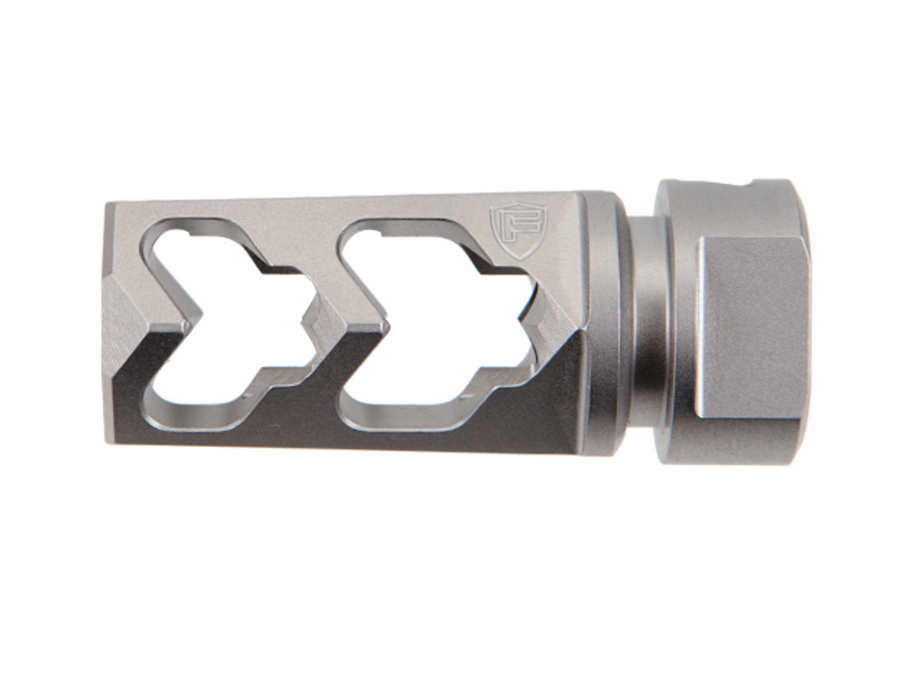 Fortis 5.56 .223 Muzzle Brake SS 303 Stainless Steel 1/2x28 AR-15 556-MB-SS AR 15 AR15 Rifle