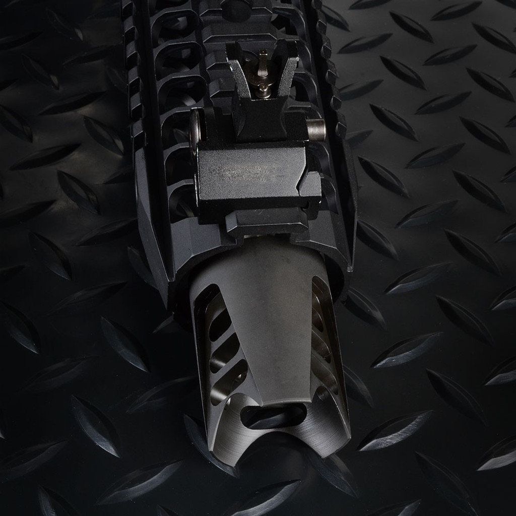 Strike Industries SI FAT Comp 03 1/2x28 Triangular Muzzle FC-03 700371178994 AR-15 AR 15