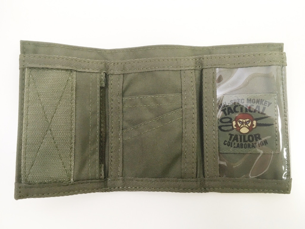 MSM Mil-Spec Monkey Practical Results Wallet Ranger Green