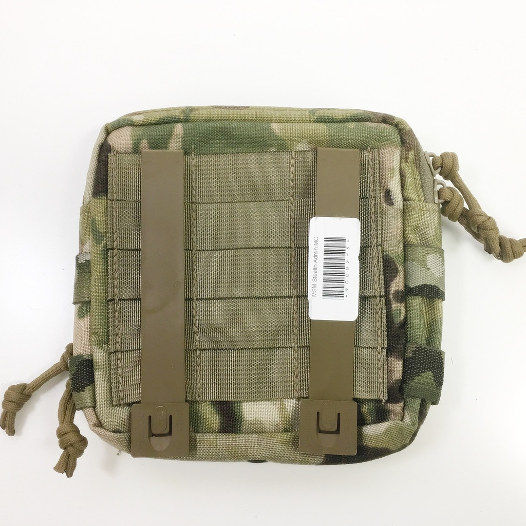 Mil-Spec Monkey Stealth Utility Admin Pouch Multicam Camouflage MSM 003-MULTI  Camo MOLLE
