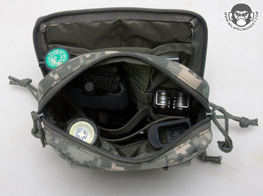 Mil-Spec Monkey Stealth Utility Admin Pouch Multicam Camouflage