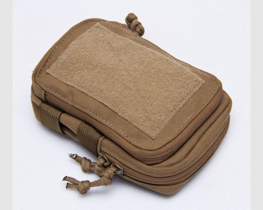Mil-Spec Monkey Stealth Compact Pouch Marine Coyote 011-MCOY Brown MSM MOLLE