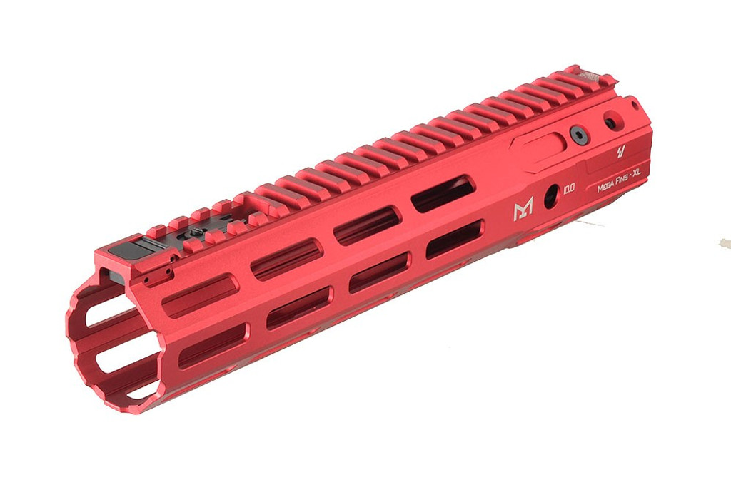 Strike Indsustries MEGAFINS XL M-LOK Handguard Rail  Red