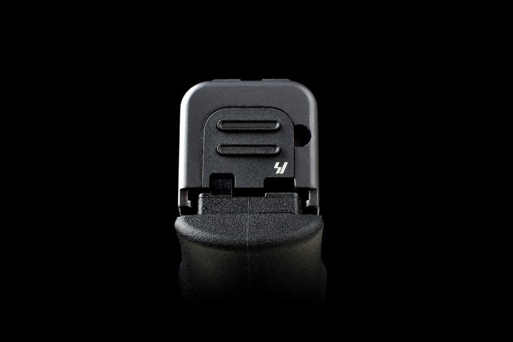 Strike Industries Glock 43 Slide Cover Plate V2 Version Two Black GSP-G43-V2-BK 708747545852 9MM Luger