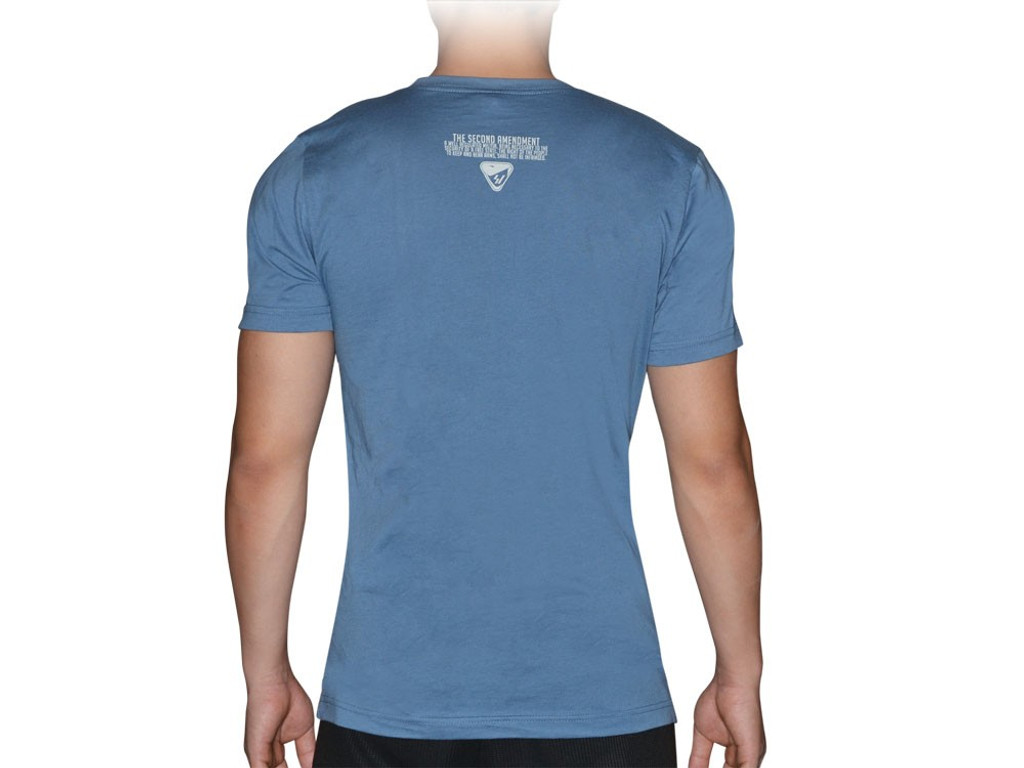 Strike Industries Gear Up Blue T-Shirt XXL 100% Cotton Shirt GEARUP-XXL