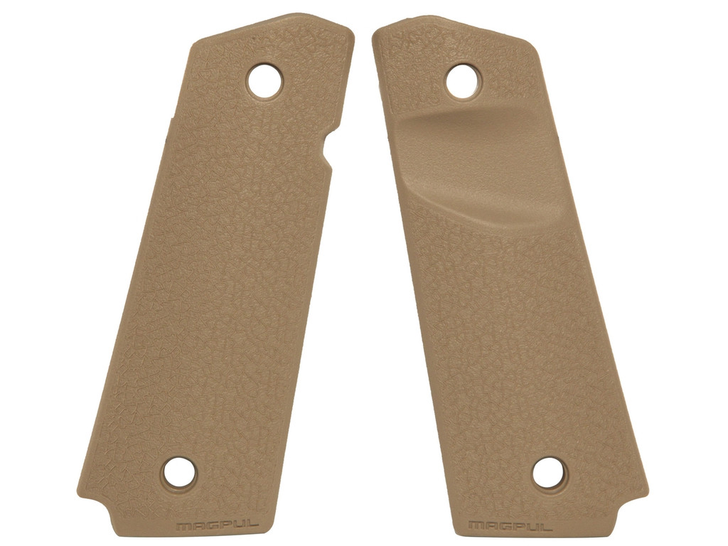 Magpul 1911 Polymer Grip Panels Flat Dark Earth MAG524-FDE FDE 873750010960  MAG524