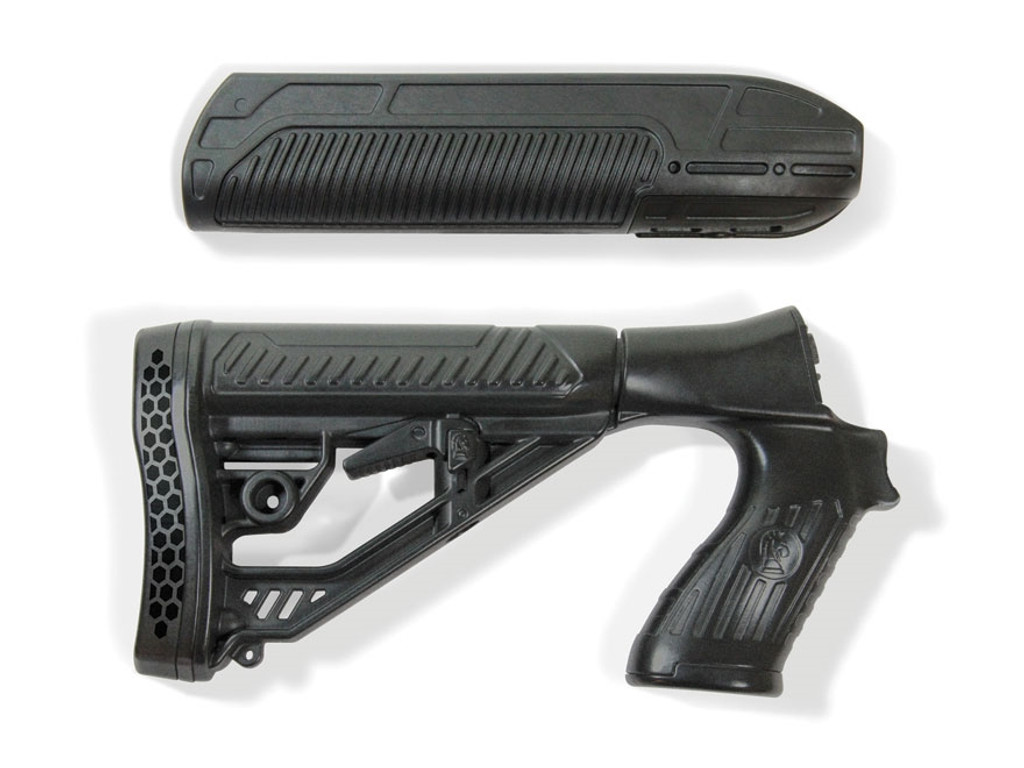 Adaptive Tactical Mossberg 500 590 EX Performance Forend & Adjustable Stock AT-02006 682146910773