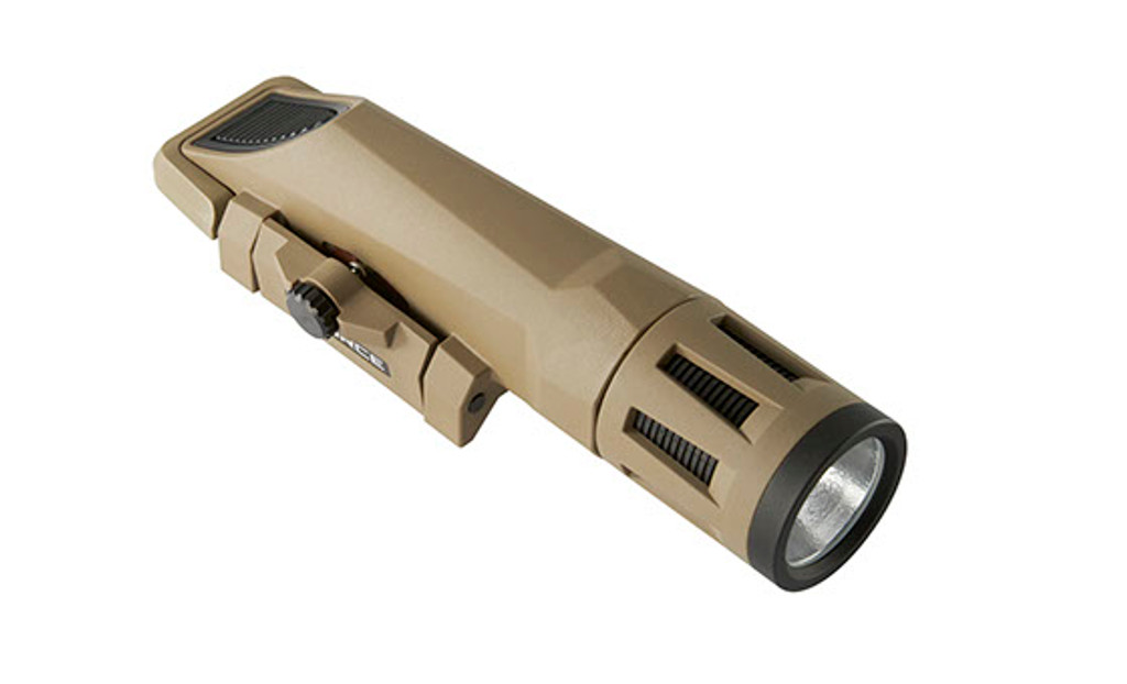 Inforce WMLx White IR Constant & Momentary Weapon Mounted Light FDE Infrared WX-06-2 0671192601421