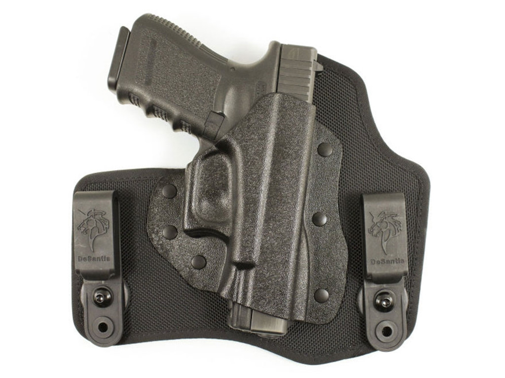 DeSantis Invader Right Hand IWB Holster Springfield Armory XDS 9MM .40 S&W CAL M65KAY1Z0 792695328452