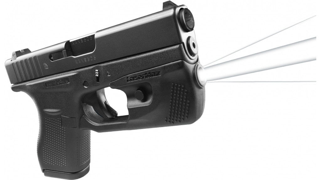 LaserMax CenterFire LED Weapon Mounted Light Glock 42 43