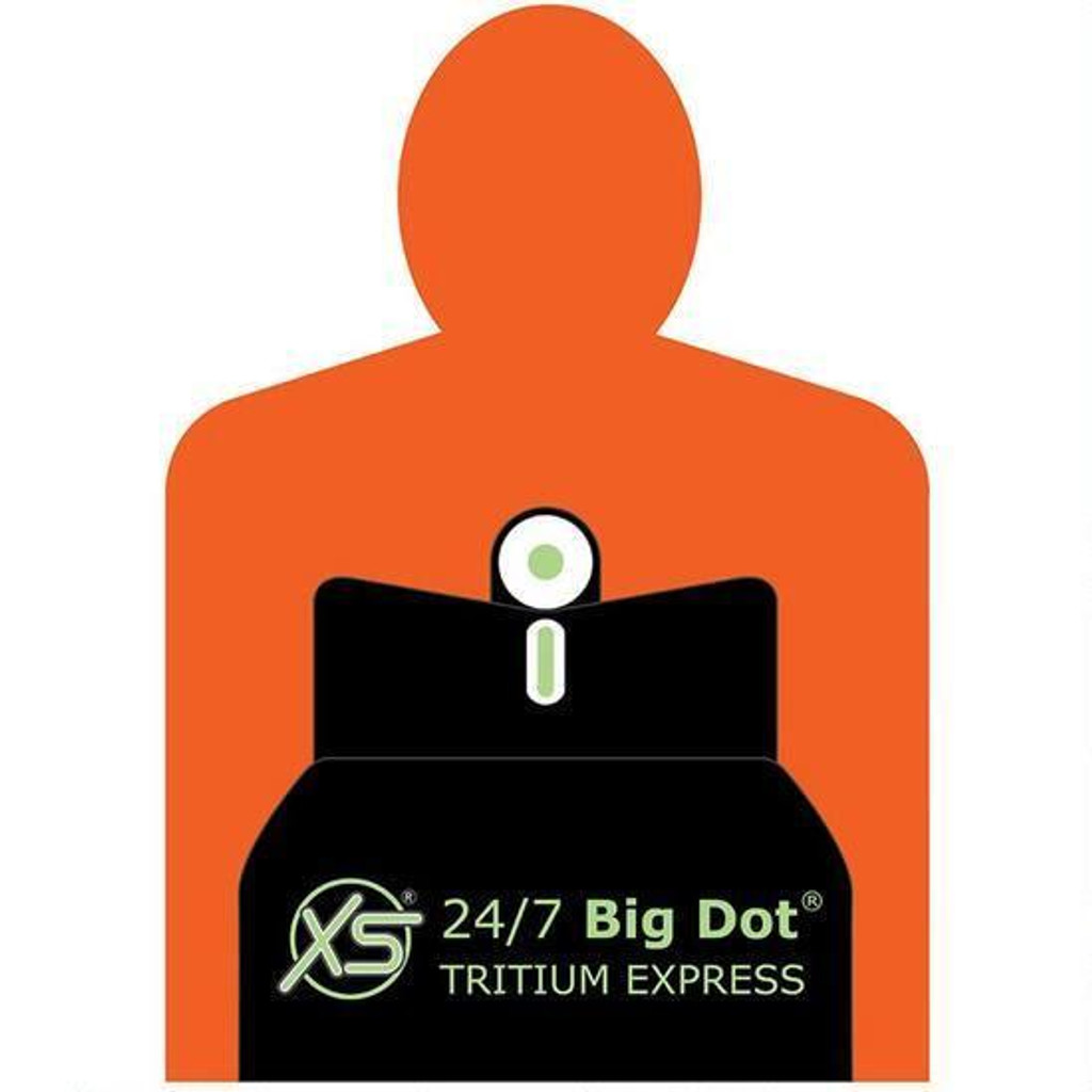 XS Sights Systems DXT Big DOT Tritium Night Sights Ruger LC9 LC380 LC9S 9MM Luger RP-0009S-5 647533045483