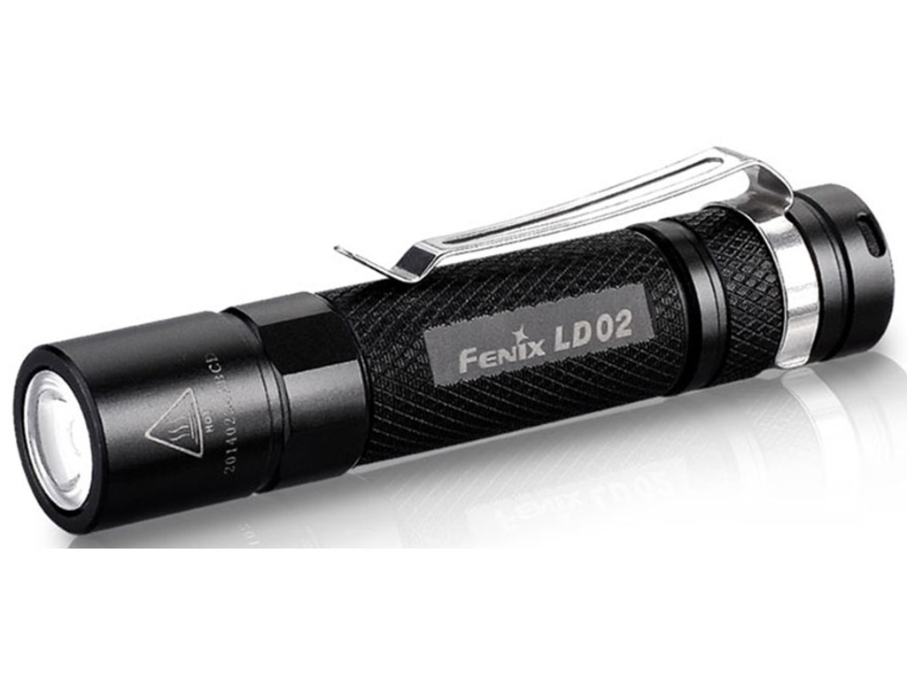 Fenix LD02 Flashlight 100 Lumen LED 1 AAA Battery EDC Light FX-LD02 6942870302683