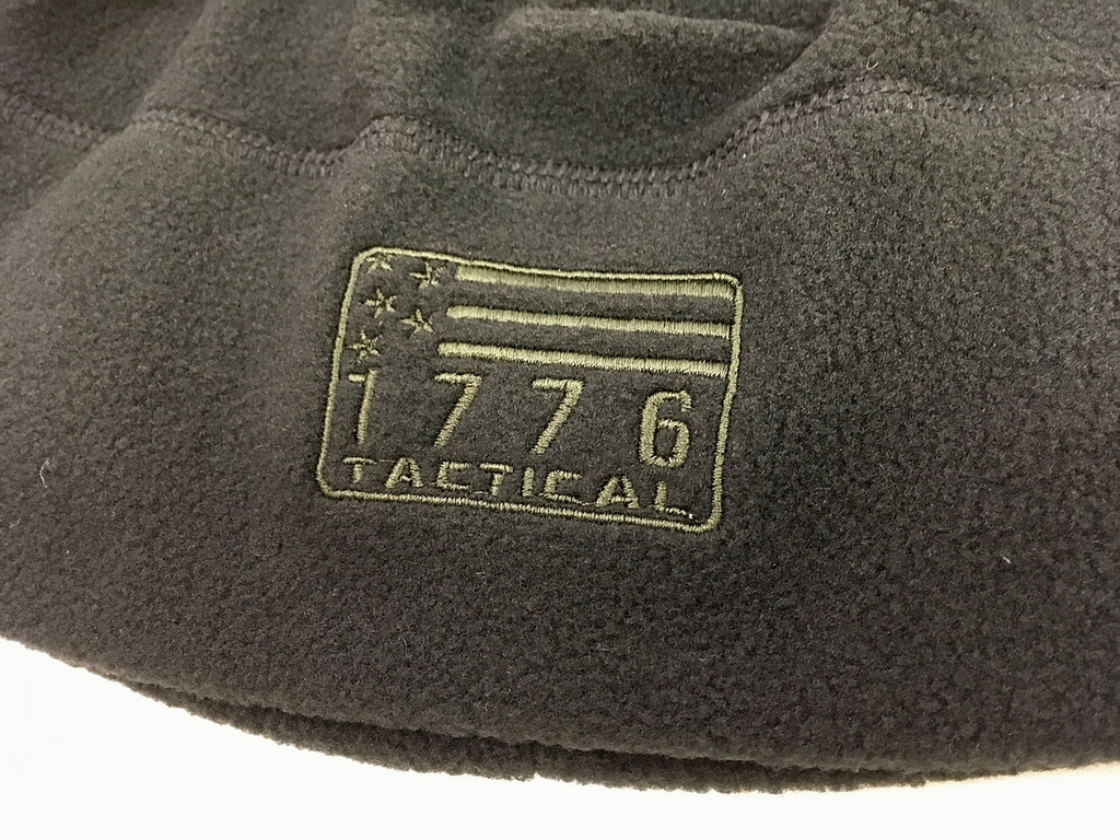 1776 Tactical Green Flag Patrol Watch Skull Cap Beanie Hat Black Fleece OD