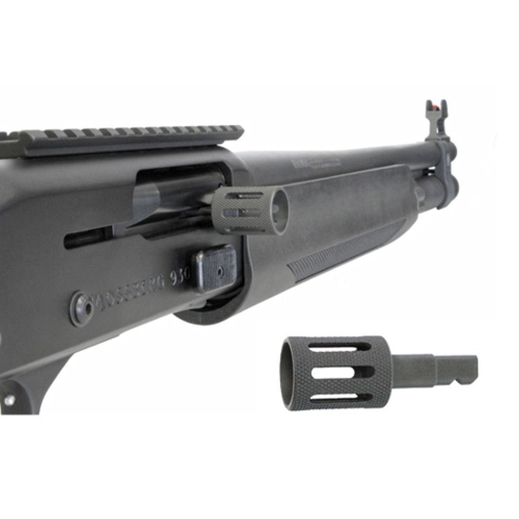 GG&G Slotted Charging Handle for Mossberg 930 Black GGG-2014