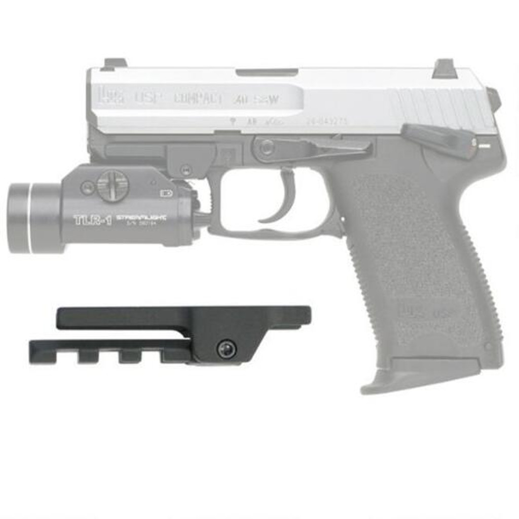 GG&G Picatinny Rail Light and Laser Adapter for HK USP Compact