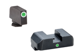 Ameriglo Idot Trijicon Night Sights For Glock GL-101 GL 101 SET GREEN I-DOT gl101 Trijicon Tritium G 17-39 21 30 20 33 34 644406902836