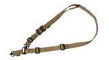 Magpul MS4 Dual QD 2 Single Point Rifle Sling Gen-2 GEN2 Coyote MAG518-COY Brown MAG518COY MAG518 COY Single Dual Two 1 One 2 Point
