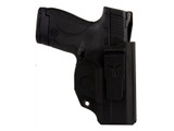Blade-Tech Klipt Appendix IWB Holster Right Hand S&W M&P Shield HOLX0090KSWMPSAKBLKRH 845879059397 Smith & Wesson