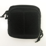 Mil-Spec Monkey Stealth Utility Admin Pouch Black 003-BLACK MSM MOLLE