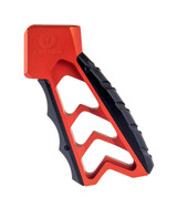 Tyrant Designs AR-15 Aluminum MOD Chevron Grip Large Red TD-766R AR-10 5.56 .308 M4 M16