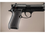 Hogue Extreme Series Grip Beretta 92F 92FS 92SB 96 M9 Gloss Black Aluminum 92176 743108921760