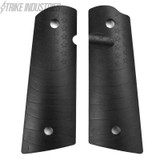 Strike Industries 1911 Standard Size Grips Flag Pattern Black PX10 PX-10 708747543926