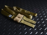 Strike Industries S3 Silent Strategic Sling System 2 or 1 Point - FDE Flat Dark Earth Coyote Tan S3-SLING-FDE