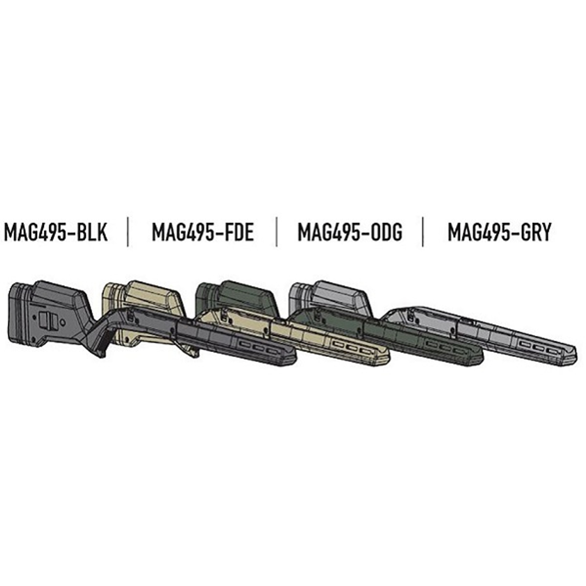 Magpul Hunter 700 Stock Remington 700 Short Bolt Action Wise Tactical