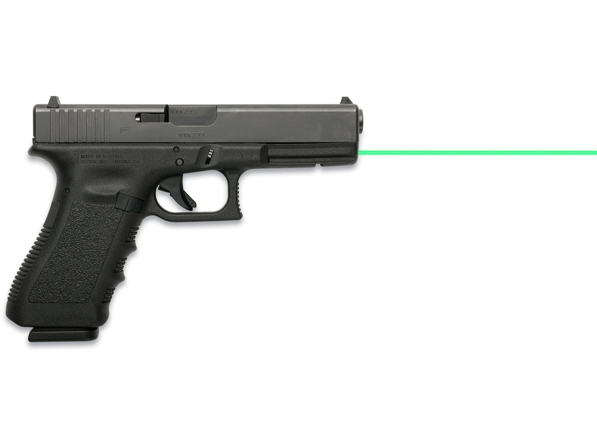 LaserMax Green Guide Rod Laser Sight Glock 20 21