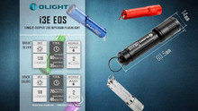 Olight i3E-BK EOS 90 Lumen Mini Keychain Flashlight Black