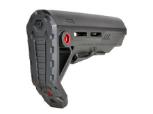 Strike Industries AR-15 Viper MOD-1 Stock Black Red VIPER-ES-MOD1BK-RED 708747544763 Mil-Spec M4