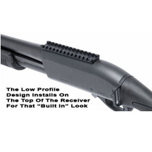 GG&G Scope Mount for Remington VersaMax Versa Max Shotgun Black GGG-1758