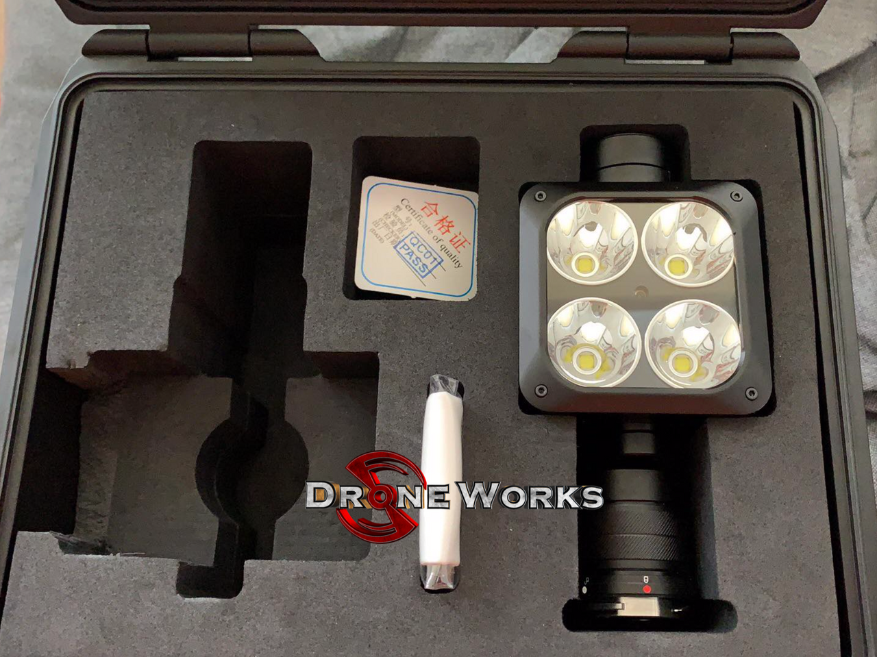 Wingsland Z15 Tactical Spotlight with Laser for Matrice 210 Series Aircraft