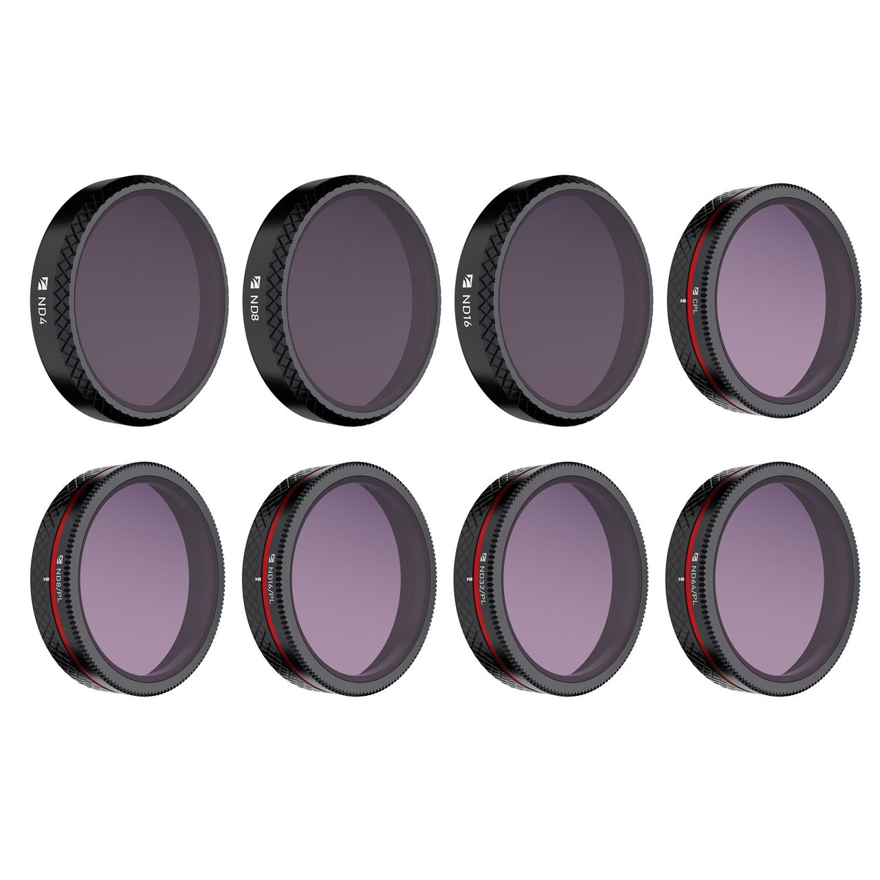 Freewell EVO II Pro (6K) ND Filters All-Day 8-Pack