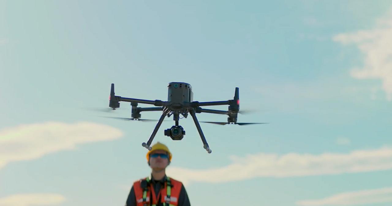 Zenmuse P1 Full-Frame Aerial Surveying