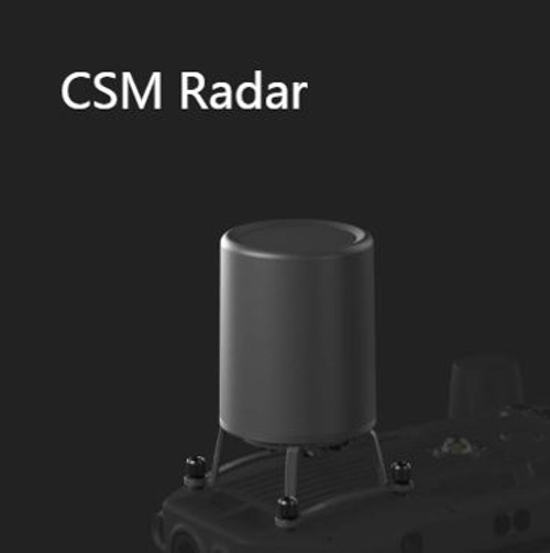 For an added safety measure, a Circular Scanning Millimeter-Wave (CSM) Radar with a detection range between 1 to 30 m can be mounted on top of the aircraft.
