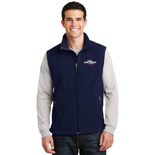 Full Zip Fleece Vest ( In Stock)
