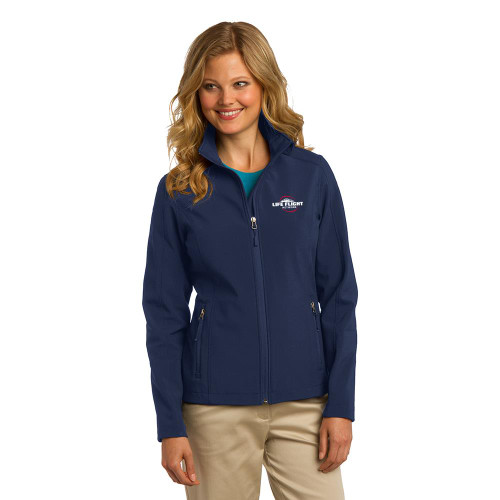 Ladies Core Soft Shell Jacket (In-Stock)