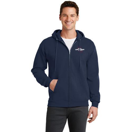 Core Fleece Full-Zip Hooded Sweatshirt (In-Stock)