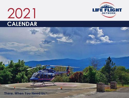 2021 Life Flight Network Calendar (In-Stock)