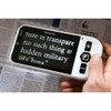 "Zoomax Snow 4.3"" Handheld Video Magnifier"
