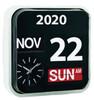 LINEAR Wall Hanging Flip Clock/Calendar