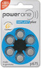 Power One Hearing Aid Battery Size 675 - 6 Pack