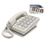Brailled Number Big Button Corded Telephone