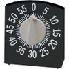 Tactile Low Vision Timer Black with White Numbers