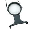 2.5X w/6X Bifocal Triple 4 Inch Round Magnifier Illuminated Magnifier