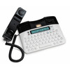 Combination TTY and Voice Carry Over Phone