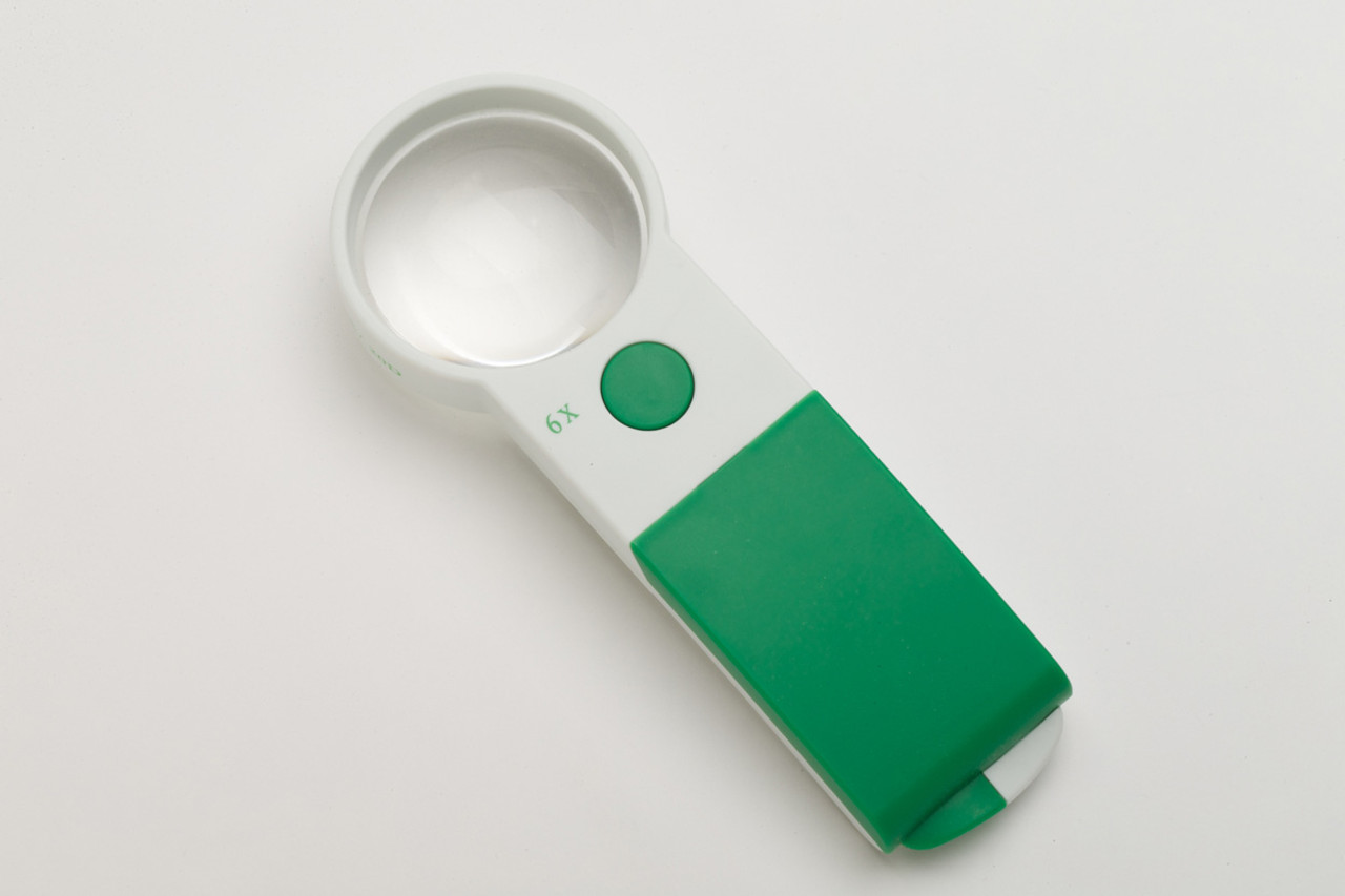 ThumBright Pocket Magnifier 6X/57mm