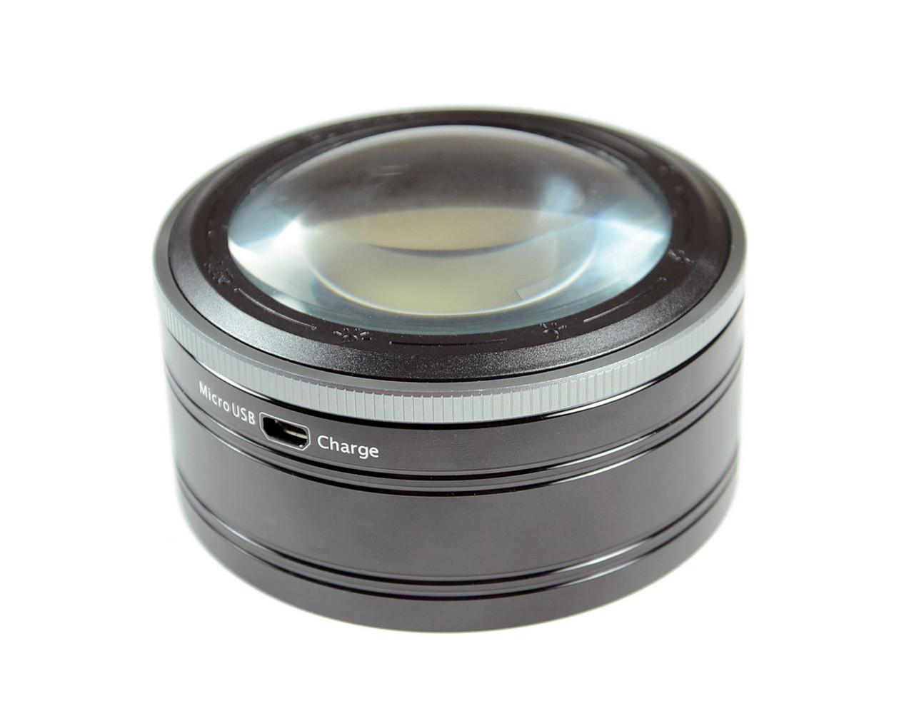 3X 3 Level Illuminated Dome Magnifier