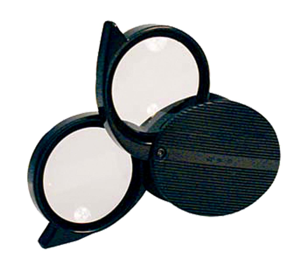 4X/5X B & L Folding Pocket Magnifier
